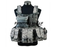 Wholesale color Camo Tactical Airsoft Army Hunting Hard wearing D Nylon Molle D CIRS Paintball Combat Vest for Outdoor Hunting