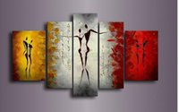abstract dance paintings - Modern Abstract Huge Wall Decoration Oil Painting On Canvas Dancing paintings Picture Living Room Wall Decor Gifts