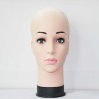 Wholesale 1 Female Mannequin Head Model Wig Hat Jewelry Display Cosmetology Manikin Hairdressing Doll Women Hairdresser Manikin Sale K939