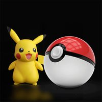 Wholesale 1PC Newest Poke Go Pokeball Chager mon mAh Power Bank With LED Light For Poke Go Games Fedex