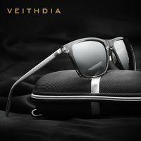 amber accessories - VEITHDIA Brand Unisex Retro Aluminum TR90 Sunglasses Polarized Lens Vintage Hawkers Accessories Sun Glasses For Men Women