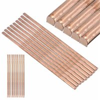 Wholesale 1x Pure Copper Cu Metal Rod Cylinder Diameter mm Length mm Hardware