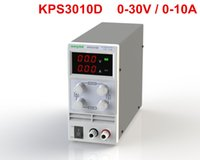 Wholesale DHL KPS3010D Adjustable High precision double LED display switch DC Power Supply protection function V10A V V