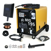 aluminum welding flux - 220V Gas No Gas AMP Flux Aluminum MIG Welder Stainless Steel Welding Machine