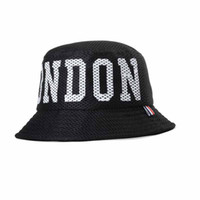 Wholesale 3 Color London Bucket hats Buckets caps Bucket Hats Baseball Caps Cap Snap Back Snapbacks Hat High Quality Mixed Order A061