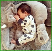 Spring / Autumn best baby fashion clothing - Cotton blends baby boys girls rompers polka dot grey best fashion selling lovely baby clothing jumpsuits