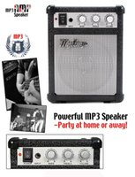 adjustable speaker stands - portable speaker Classic electronic myamp guitar amplifier adjustable engraving high bass sound effect mini my amp