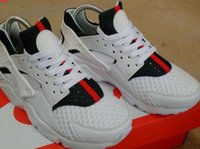 Wholesale High Quality Size us Best Quality Huraches White Green Red sports Running Shoes huaraches Sneakers With Box