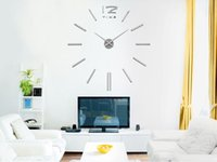 Wholesale Wholesales Retail High Quality Large Number DIY Decoration Wall Clock for Home and Office