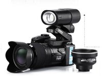 Wholesale DHL Free HD D3200 digital camera million pixel camera digital Professional SLR appearance camera optical zoom HD camera