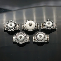 Wholesale Hot sale JZ0010 Charm Simple ginger snap ring styles fit DIY mm mm ginger snap buttons beauty charm