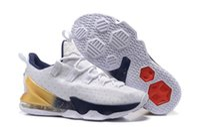 cavalier - LeBron XIII Basketball Shoes Lebron XIII EP Cavaliers Mens Sports Shoes Mens Trainers Outdoors Shoes Factory Sale