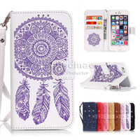 bar wallet - Rhinestone Iphone plus Wallet Case Bar Chimes Printing for iphone s SE S Plus Samsung S6 S7 edge plus