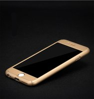 acrylic iphone - 360 degree iPhone S S SE Case Tempepred glass Hybrid Acrylic Full Boday Cover For Samsung S7 S6 edge Note
