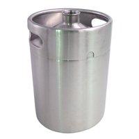 Wholesale 2L Homebrew Growler Mini Keg Stainless Steel Keg Style Beer Growler mini beer keg