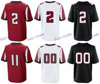 freeman - 2016 Atlanta football jersey Falcons Soccer rugby jerseys Jones Freeman White Ryan Red White Black freeshipping