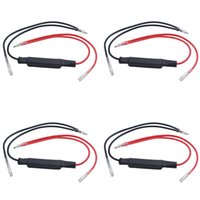 Wholesale 4x DC V w Motorcycle Turn Signal Indicator LED Load Resistor Flash Blinker Fix Error Slows down the flash rate when moving from bulb