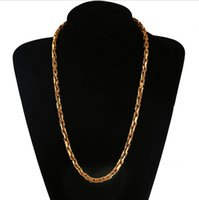 mens jewelry cheap - Fashion jewelry New hot seller Classic Mens Imitation gold necklace chain N2171 cheap for women C247
