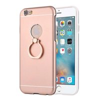 apple carry case - For Iphone S Plus G Plus Case With Anti explosion Metal Cases And TPU PC Support Grip Rings Easy Carry