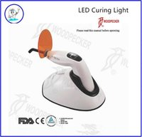 Wholesale 100 Original Woodpecker Dental LED Curing Light s Curing battery FDA and CE LED F wm