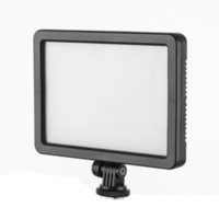 Wholesale PC K128C slim portable LED Photography Video Light k k color temperature On Camera for Canon Nikon Sony Panasonic DV Camcorder DSLR