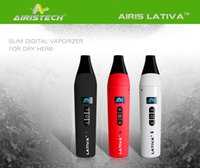 Wholesale 2016 Airis Lativa Kit Dry Herb Vaporizer OLED Digital Display Full Ceramic Heating Chamber ma E Cigarettes Supply from Factory Directly