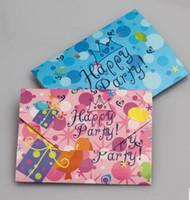 Wholesale 20 Prince crown theme happy birthday children party decoration cartoon invitation card
