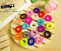 Wholesale TS0030 trumpet telephone line hair ring rubber band ribbon Japan and South Korea candy Tousheng Super Hot