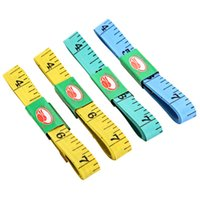 Wholesale 4PCS Body Measuring Ruler Sewing Tailor Tape Measure Soft Flat Inch M