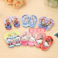 Wholesale eraser primary creative personality Korean snow Aisha flops modeling eraser creative stationery