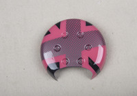 abs union - Brand New ABS Material UV Protected Pink Union Jack Style Tachometer Cover For Mini Cooper R50 R52 R53 set