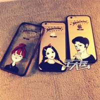 avatar mobile - iphone6 Mobile Shell Creative inch plus personalized avatar protective case cover for Apple s sTPU couple