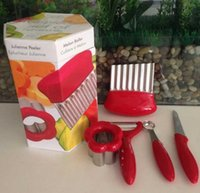 Wholesale 90SET LJJH589 TV shopping sell like hot cakes SET Vegetable Fruit Peeler Cutter Multi Chopper Slicer Fruit Vegetable Tools