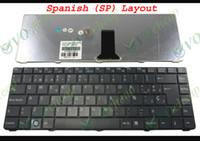 Nouveau clavier d'ordinateur portable pour Sony Vaio VGN-NR VGN-NS NR NS PCG-7151M PCG-7153M PCG-7161M Noir Espagnol / espanol SP Teclado V072078BK2