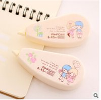 Wholesale Selling Decorative Tape - Wholesale-2016 Top Fashion Direct Selling Stationery Cute Novelty Decorative Correction Tape Fluid School & Office Supply K7580