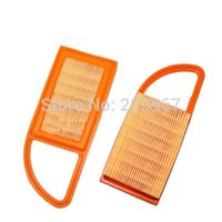 backpack blowers - 2 X Air filter for Stihl Backpack Blower BR500 BR550 BR600 replacement part B