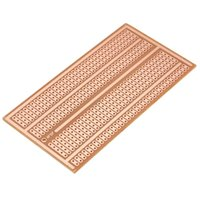 Wholesale High quality x10cm Solderless PCB Test Breadboard Single Side Copper Prototype Paper Tinned Plate Joint holes DIY