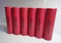 al por mayor poder iones-El paquete original HE2 18650 Li-ion 2500mAh Vape batería Traje 25A de descarga de Vape E-cig / LED de dispositivos / energía / E-bici