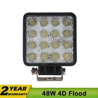 Wholesale 4 Inch W LED Work Light for Jeep Atv Motorcycle Driving Offroad Boat Car Tractor Truck x4 SUV ATV Flood V V