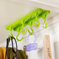 Wholesale Fashion Kitchen Rack Seasoning Rack kitchen tool Kitchen Ceiling Hanging Rod Kitchen Storage Rack Hooks