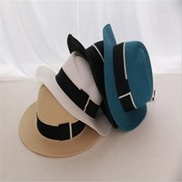 Wholesale New Stylish Vintage Unisex Women Men Hat Floppy Cloche Sun Beach Cute Cap