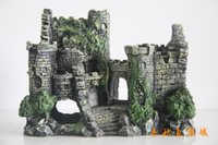 Wholesale Aquarium landscape Aquarium decorations Resin castle Landscape of the castle