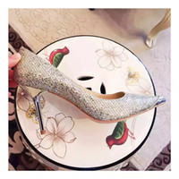 Pumps Shoe Dryer - heel high cm women dress shoes spun gold and silver sheepskin with mirror plate on vamp chrome heel goatskin inside genuine leather tread