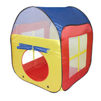 Wholesale Prettybaby Children Kids Play beach Tents Outdoor Garden Folding Portable Toy Tents Indoor Pop Up colorful Independent House Pt0388