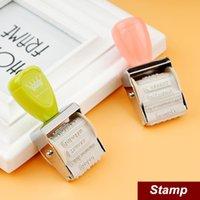 Wholesale 12 Vintage DIY stamp Crown Roller Stamp for Wedding memo book card zakka carimbo deco material school supplies