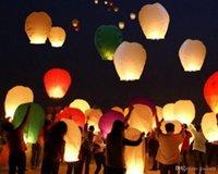 Bon Marché Lantern-Coeur Sky Lanternes Souhaitant <b>Lantern</b> Feu Ballon chinoise Kongming Lanterne Souhaitant Lampe éclairage extérieur Livraison gratuite