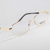 al por mayor lectura de la visión-Vidrios de lectura marcos de las lentes Gafas oro de la manera presbicia hipermetropía Visión Larga Distancia Sping Templos 0.75 / 1.00 / 1.25 / 1.50 / 1.75 / 2.75