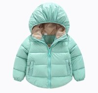 Wholesale Winter Children Jackets Brand Hooded Kids Baby Girls Clothing Outerwear For Years Boys Down Coat Casacos De Inverno