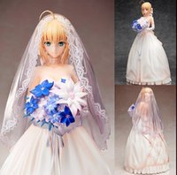 Wholesale 2016 HOT Fate stay night saber tenth anniversary of the Royal Wedding dress hand to do Sebastian spot