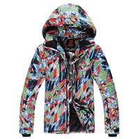 Wholesale new brand man ski suits snow jacket pants waterproof windproof thermal coat hiking camping cycling winter ski sets